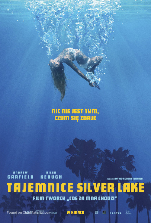 Under the Silver Lake - Polish Movie Poster