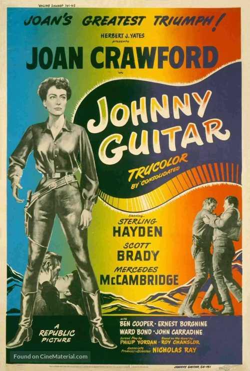Johnny Guitar - Movie Poster