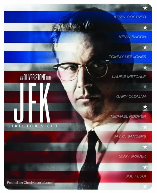 JFK - Blu-Ray cover