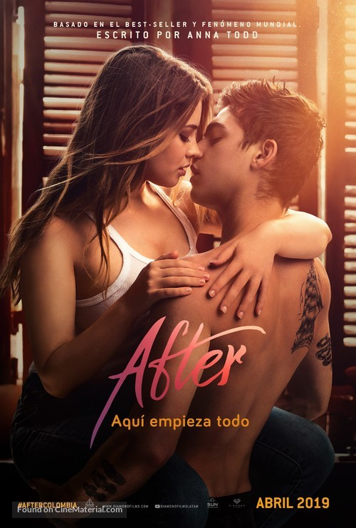 After - Argentinian Movie Poster