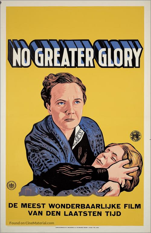 No Greater Glory - Dutch Movie Poster