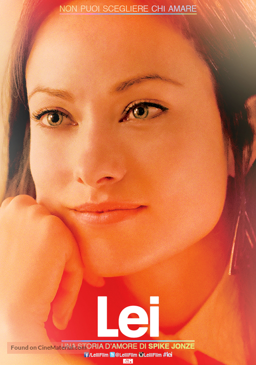 Her - Italian Movie Poster