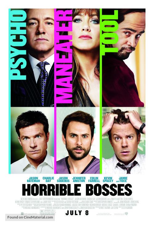 Horrible Bosses - Movie Poster