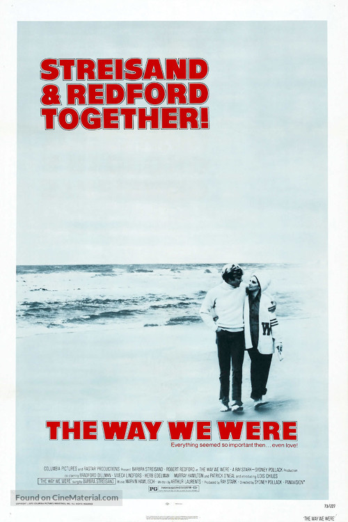 The Way We Were - Movie Poster
