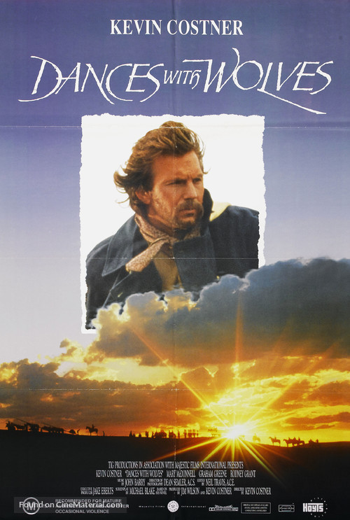 Dances with Wolves - Australian DVD cover