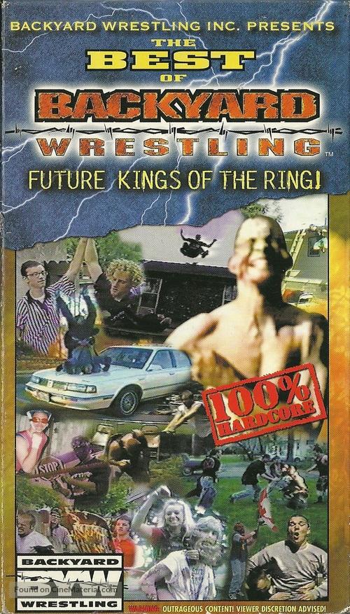Best Of Backyard Wrestling best of backyard wrestling: volume 1 vhs cover