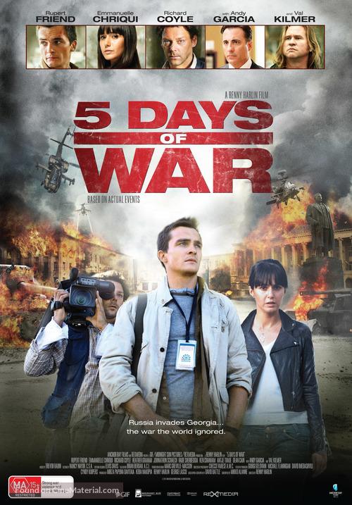 5 Days of War - Australian Movie Poster