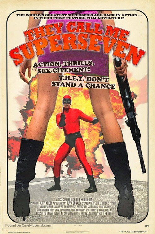They Call Me Superseven - Movie Poster