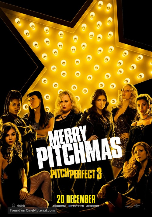 Pitch Perfect 3 - Dutch Movie Poster