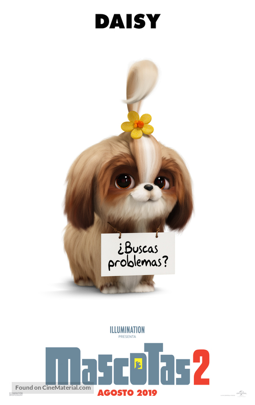 The Secret Life of Pets 2 - Spanish Movie Poster