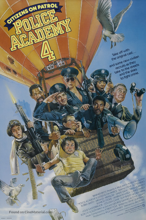 Police Academy 4: Citizens on Patrol - Movie Poster