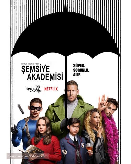"""The Umbrella Academy"" - Turkish Movie Poster"