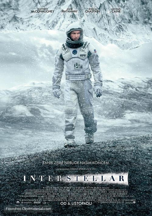 Interstellar - Czech Movie Poster
