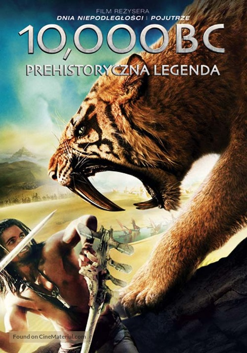10,000 BC - Polish DVD cover