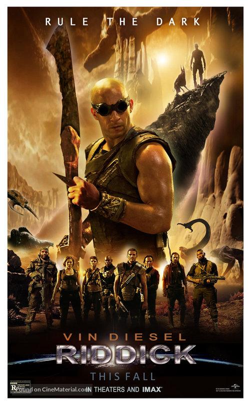 Riddick Movie Poster-4166