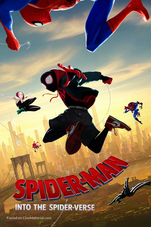 Spider-Man: Into the Spider-Verse - Movie Cover