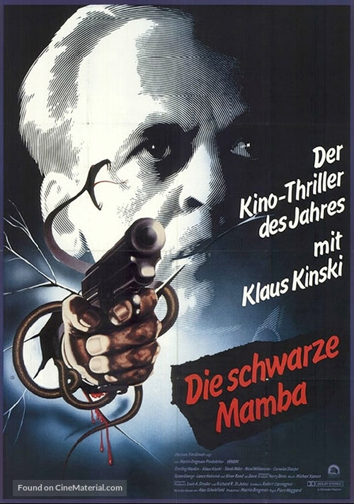 Venom - German Movie Poster