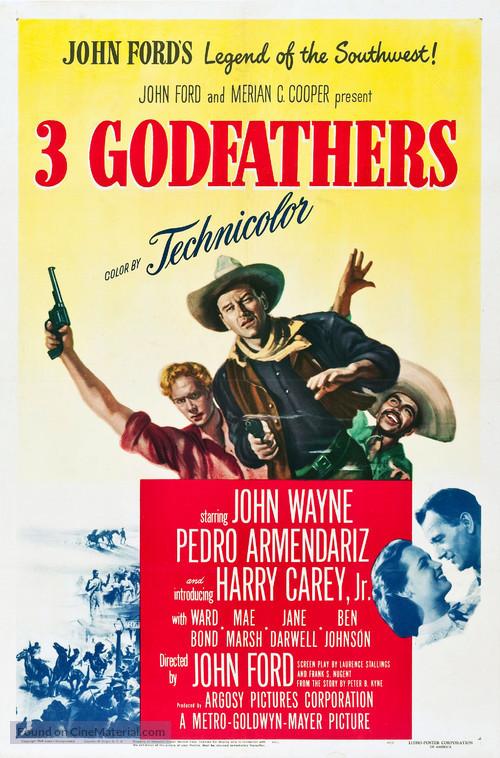 3 Godfathers - Movie Poster