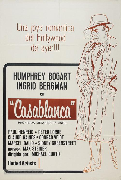 Casablanca - Argentinian Movie Poster