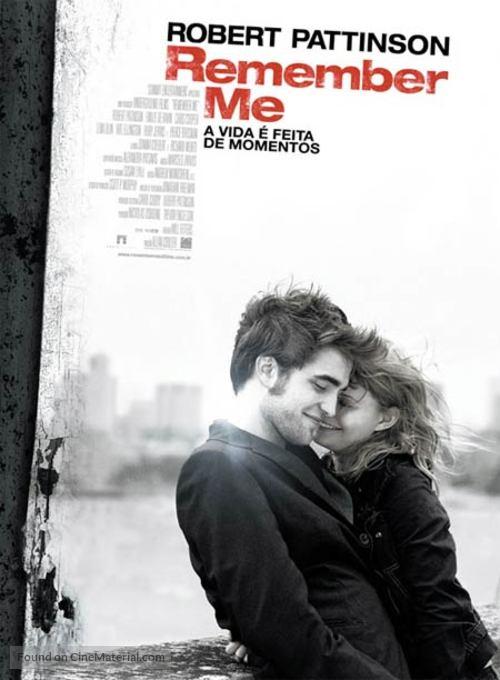 Remember Me - Brazilian Movie Poster