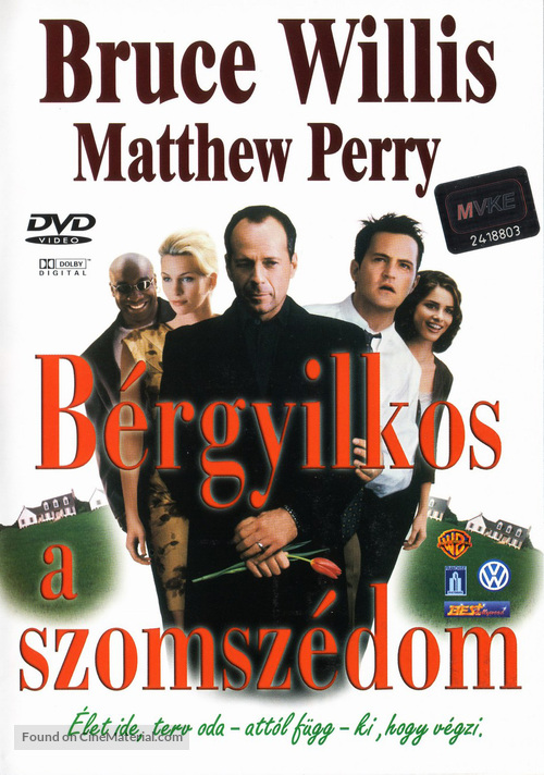 The Whole Nine Yards - Hungarian DVD movie cover
