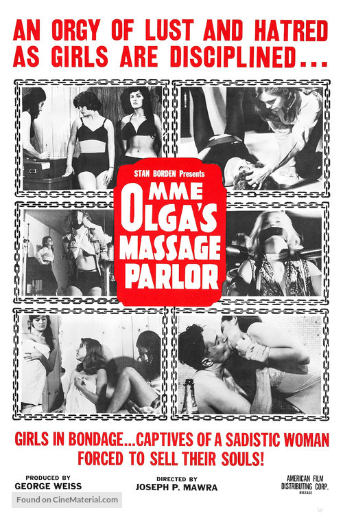 Mme. Olga's Massage Parlor - Movie Poster