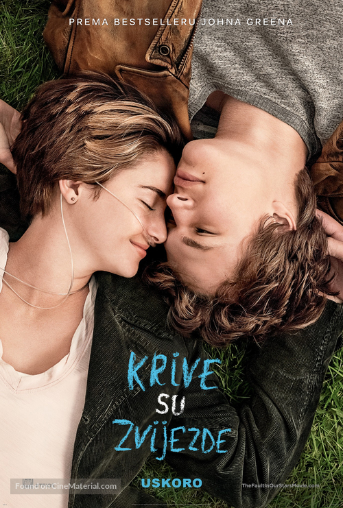 The Fault in Our Stars - Croatian Movie Poster