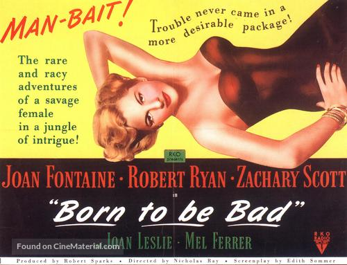 Born to Be Bad - British Movie Poster