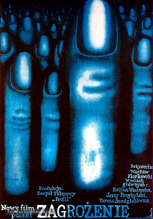 Zagrozenie - Polish Movie Poster