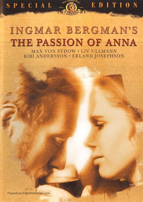 The Passion of Anna - DVD cover