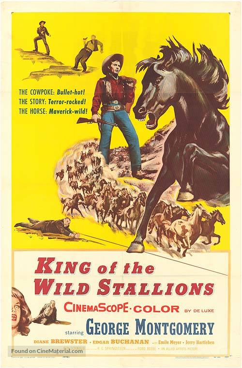 King of the Wild Stallions - Movie Poster