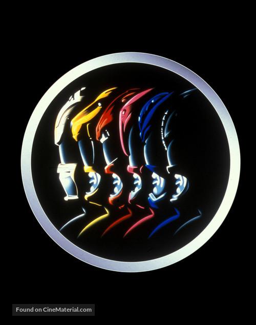 Mighty Morphin Power Rangers: The Movie - Key art