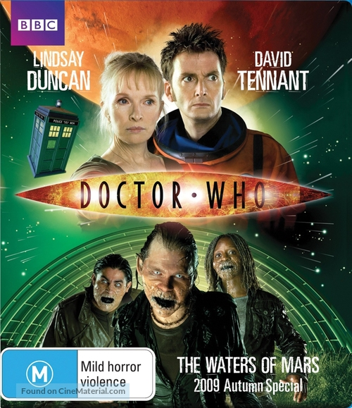 """Doctor Who"" - Australian Blu-Ray movie cover"