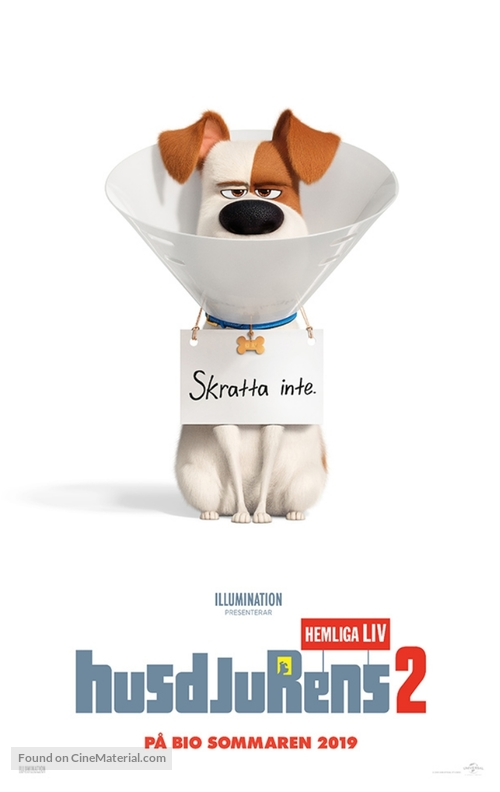The Secret Life of Pets 2 - Swedish Movie Poster