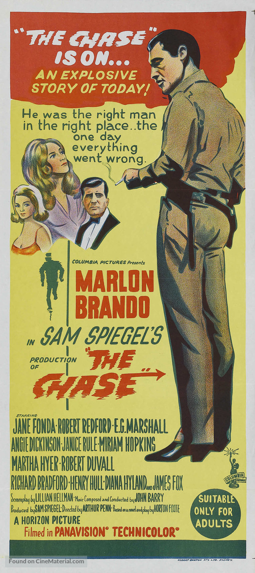 The Chase - Australian Movie Poster