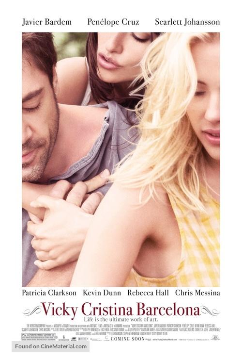 Vicky Cristina Barcelona - Movie Poster