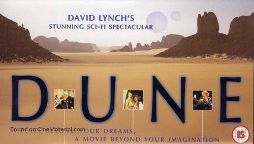 Dune - British VHS movie cover