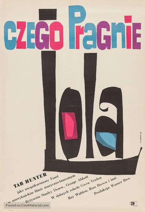 Damn Yankees! - Polish Movie Poster