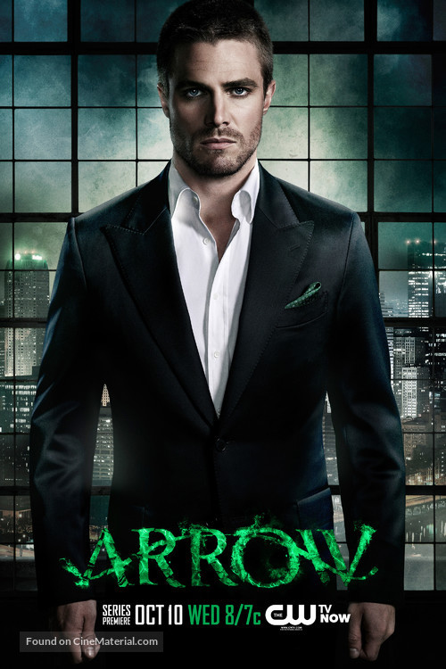 """Arrow"" - Character movie poster"