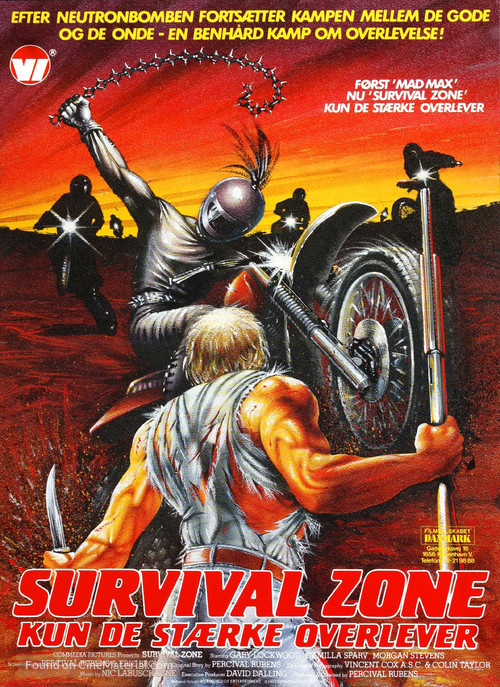 Survival Zone - Danish Movie Poster