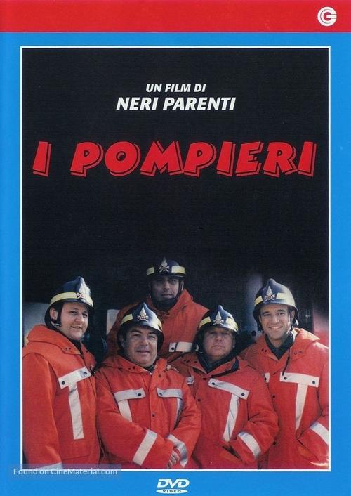 I pompieri - Italian Movie Cover