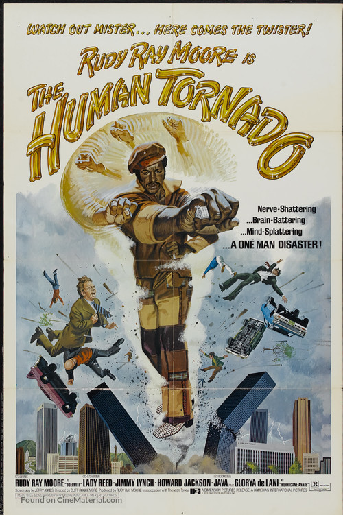The Human Tornado - Movie Poster