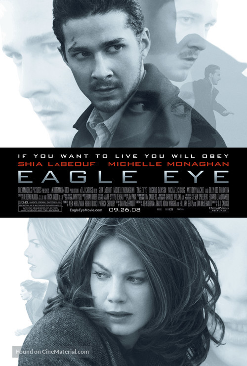 Eagle Eye - Movie Poster