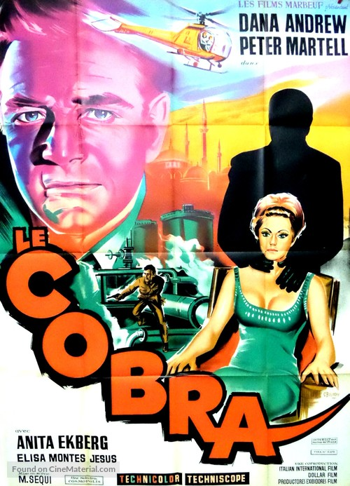 Cobra, Il - French Movie Poster