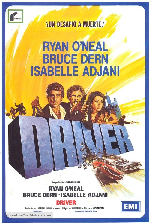 The Driver - Spanish Movie Poster
