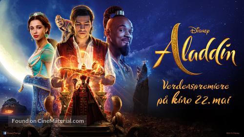 Aladdin - Norwegian Movie Poster