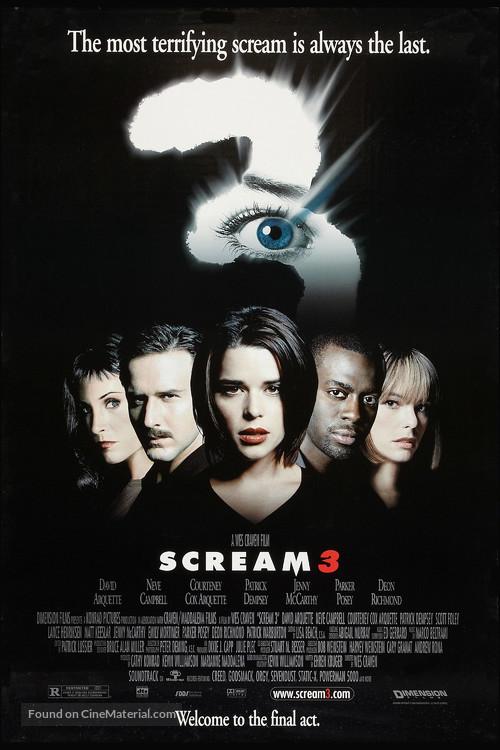 Scream 3 - Movie Poster
