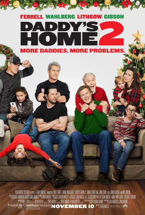 Daddy's Home 2 - Movie Poster