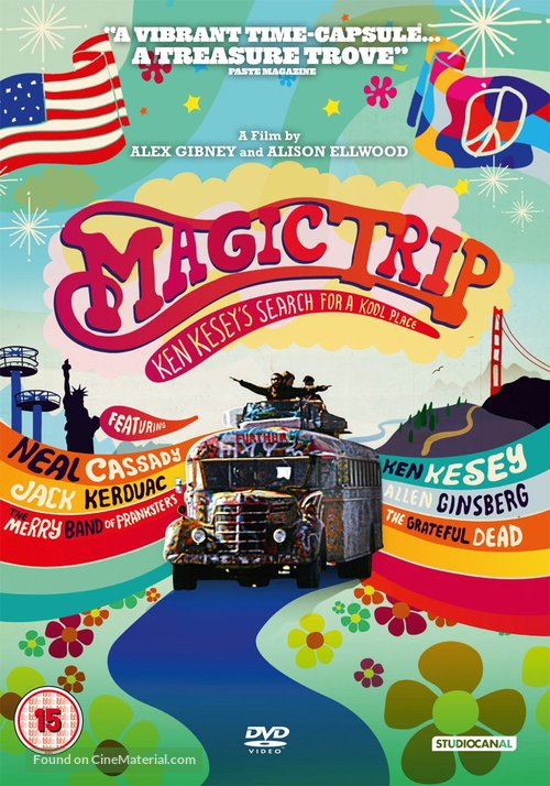 Magic Trip - British DVD cover
