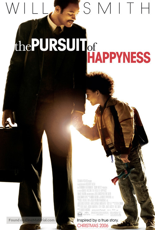 The Pursuit of Happyness - Movie Poster